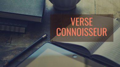 Photo of Verse Connoisseur Episode 3