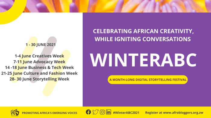 Afrobloggers Winter Challenge