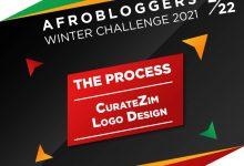 Photo of The Process: CurateZim logo Design